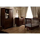 more details on Obaby Lincoln Mini Sleigh 3 Pc Nursery Furniture Set - Dark.