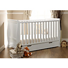 more details on Obaby Lincoln Sleigh Cot Bed - White.