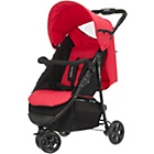 more details on Obaby Tour 3 Wheeler Pushchair - Black and Red.