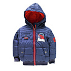 more details on Spider‑Man Boys' Navy Puffer Coat.