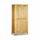 more details on Kendal 2 Door Solid Pine Wardrobe.