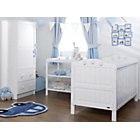 more details on Obaby Lisa 3 Piece Nursery Furniture Set - White.