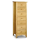 more details on Kendal 7 Drawer Narrow Chest - Solid Pine.