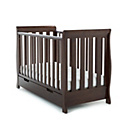 more details on Obaby Lincoln Mini Sleigh Cot Bed - Walnut.