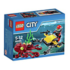 more details on LEGO® City Deep Sea Scuba Scooter Playset - 60090.