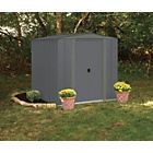 more details on Arrow (Apex) Metal Garden Shed - 6 x 7ft.