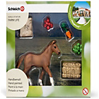 more details on Schleich Eating Foal.
