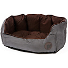 more details on Petface Oxford Small Dog Bed - Chocolate.