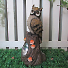 more details on Streetwize Owl on Tree Trunk Solar Light.
