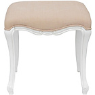 more details on Statement Furniture Juliette Dressing Table Stool - White.
