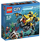 more details on LEGO City Deep Sea Submarine Playset - 60092.