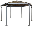 more details on Palram Monaco 14x14ft Gazebo - Dark Grey.
