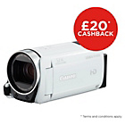 more details on Canon Legria HF R606 HD Camcorder - White.