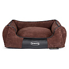 more details on Scruffs Milan Medium Dog Memory Foam Box Bed - Chocolate.