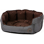 more details on Petface Oxford Medium Dog Bed - Chocolate.