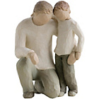 more details on Willow Tree Father and Son Figurine.