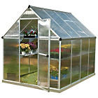 more details on Palram Mythos Silver Greenhouse - 6 x 8ft