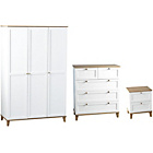 more details on Seconique Arcola 3 Piece 3 Door Wardrobe Package 2.