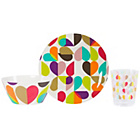 more details on Beau and Elliot Brokenhearted 12 Piece Melamine Picnic Set.