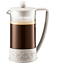 more details on Bodum Brazil 8 Cup 1 Litre Coffee Maker - White.