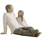 more details on Willow Tree Father and Daughter Figurine.