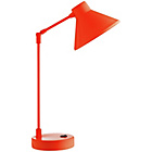 more details on Habitat Bobby Metal Desk Lamp - Flourescent Orange.