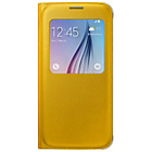 more details on Samsung Galaxy S6 S-View Cover - Yellow