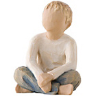 more details on Willow Tree Imaginative Child Figurine.