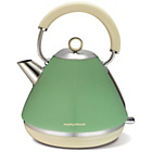 more details on Morphy Richards Accents Pyramid Kettle - Green.