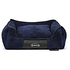 more details on Scruffs Milan Medium Dog Memory Foam Box Bed - Blue.