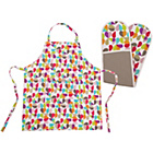 more details on Beau and Elliot Brokenhearted Apron and Oven Glove Set.
