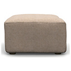 more details on Heart of House Chedworth Fabric Footstool - Beige.