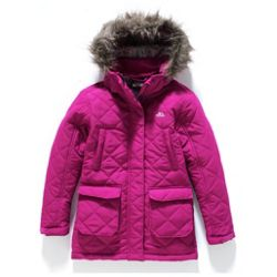 Trespass Girls' Pink Parker (9-10 Years)