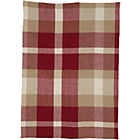 more details on Heart of House Angus Check Rug 150 x 80 - Red.