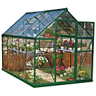 more details on Palram Harmony Green Greenhouse - 6 x 10ft