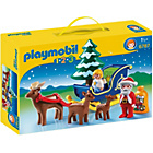 more details on Playmobil 123 Santa Claus with Reindeer and Sleigh.