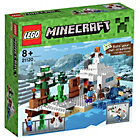 more details on LEGO Minecraft The Snow Hideout Playset - 21120.