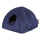 more details on Tramps Milan Memory Foam Pet lgloo - Blue.