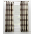 more details on Heart of House Angus Eyelet Curtains 168 x 183cm - Neutral.