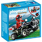 more details on Playmobil Mountain Rescue Quad.