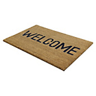 more details on JVL Welcome PVC Coir Doormat.