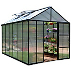 more details on Palram Glory Dark Grey Greenhouse Glory - 8x12ft.