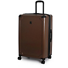 more details on Duralition Hard Shell Corner Protect Suitcase L - Brown.