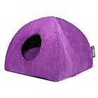 more details on Tramps Medium Cat Memory Foam Igloo - Purple.