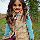 more details on Cherokee Girls' Faux Fur Gilet.