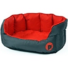 more details on Petface Oxford Small Dog Bed - Red.