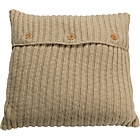 more details on Heart of House Knitted Cushion - Oatmeal.