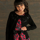more details on Cherokee Girls' Black Emebellished Cardigan.