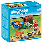 more details on Playmobil Cat Family with Basket.