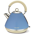 more details on Morphy Richards Accents Pyramid Kettle - Blue.